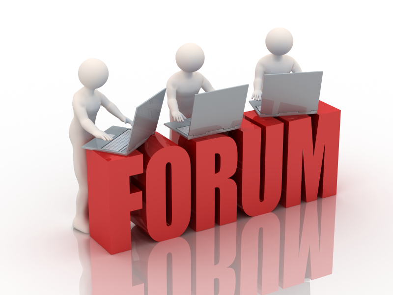 rendre forum en ligne actif